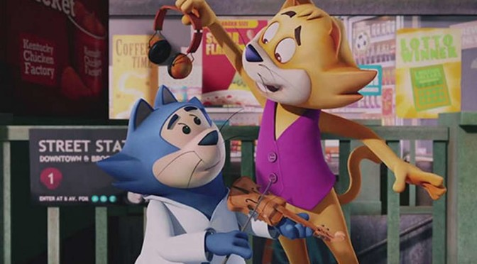 Trailer: 'Top Cat Begins,' Another Top Cat Film From Mexico