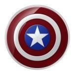 Capitan America è anche un carica batteria wireless…