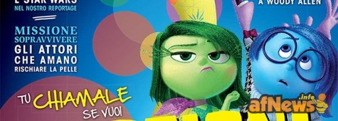 Inside Out, viaggio nel mondo Pixar su Best Movie di agosto