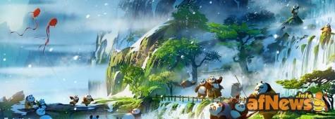 Kung Fu Panda 3, diffusi da DreamWorks i primi concept art