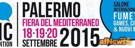 Palermo Comic Convention, settembre 2015