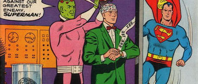 50 Years Ago This Month: Meet the new team of Brainiac and Olsen in Superman's Pal, Jimmy Olsen #86 ...