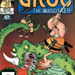25 Years Ago This Month: Groo errs and happens to kill a tame dragon and so must set out to find another…