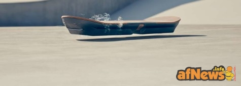 Back To The Future Comes To Life: Lexus Releases Hoverboard Video