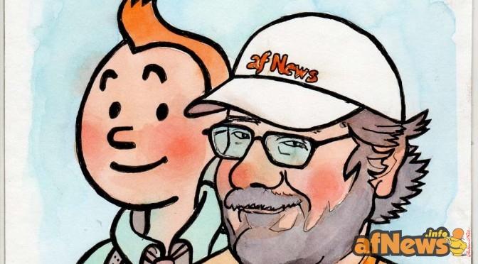 Gianfranco Goria e Tintin by Renato Ciavola