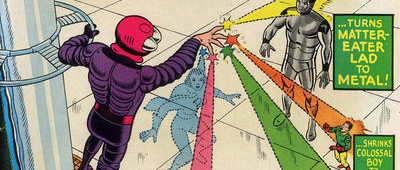 50 Years Ago This Month: Superboy and the Legion of Super-Hereos faces Starfinger -- the 30th century...