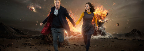 Peter Capaldi Escapes Exploding Meteors in 'Doctor Who' Promo Image