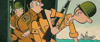 Beetle Bailey (begun on September 4, 1950) is an American comic strip created by cartoonist Mort Walker...