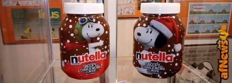 Snoopy Nutella Day al WOW