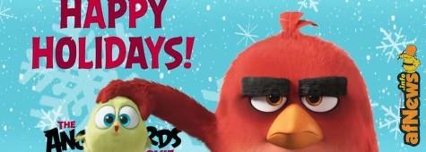 Angry Birds, augurano buone feste in un tenerissimo video