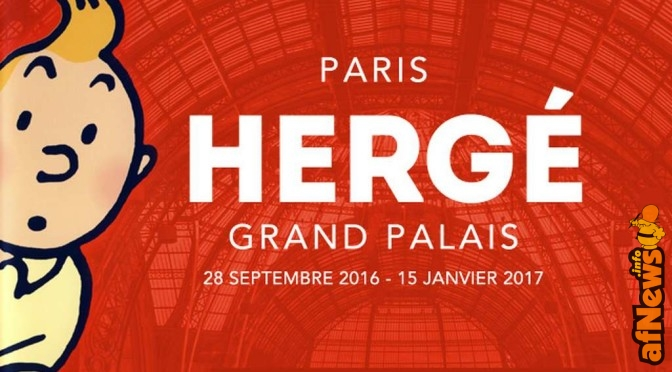 Hergé star al Grand Palais di Parigi!