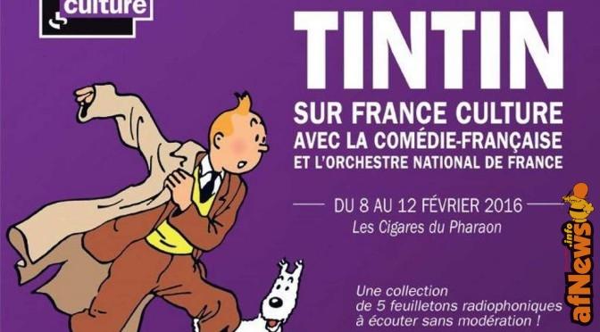 Tintin, sempre ciuffo al vento!