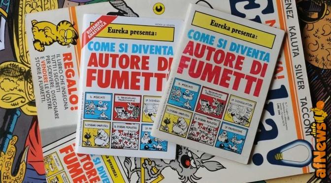 Foto Gianfranco Goria. Nel luglio 1983 la rivista di fumetti Eureka cambia molto. Entrano Alfredo Castelli e Silver a curarla e, con l'occasione, viene allegato un libriccino, mitico, scritto da Castelli e disegnato da Silver. Qui vedete l'originale, la copia anastatica offerta diversi anni più tardi dall'Anonima Fumetti ai suoi soci, e il numero di Eureka in questione, il tutto sullo sfondo del calendario di Blake e Mortimer 2010, naturalmente aperto alla pagina di luglio. www.anonimafumetti.org