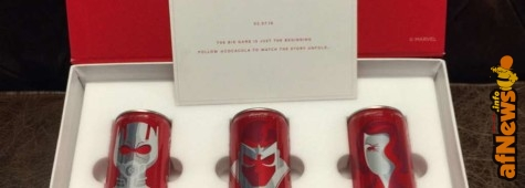 Marvel & Coca-Cola: lattine per il Super Bowl