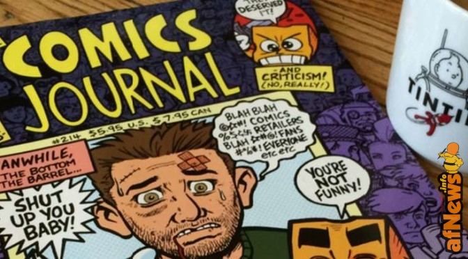 Tintin & the Comics Journal by GB