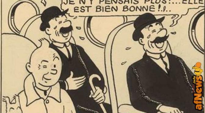 Renaud mette all'asta i suoi fumetti, insieme a una doppia di Tintin!