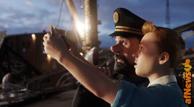 Spielberg, Jackson, i prossimi film di Tintin e le prime a casa