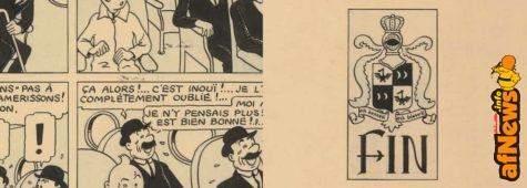 1 milione di euro per la tavola di Hergé che apparteneva a Renaud