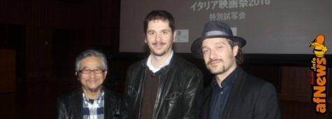 """Anche Go Nagai alla prima del """"Jeeg Robot"""" italiano in Giappone"""