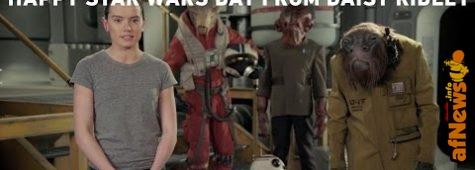 Happy Star Wars Day da Daisy Ridley!
