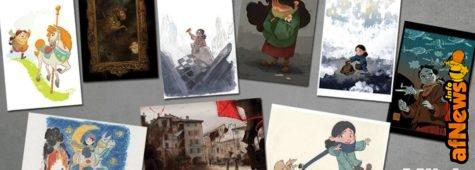Che meraviglia gli artworks di MILA!