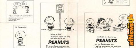 Dagli archivi Rosebud, gli umili inizi dei Peanuts - e molto altro