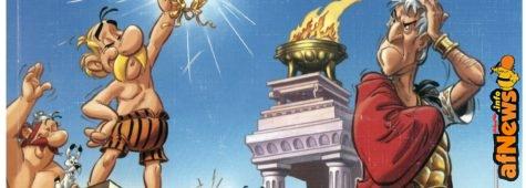 Asterix alle Olimpiadi… e parla la lingua di Platone!