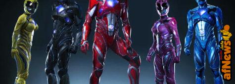 "I Power Rangers cambiano ""pelle"""