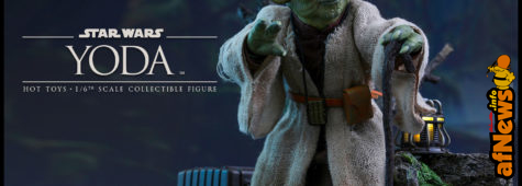 Star Wars Yoda Sixth Scale Figure by Hot Toys
