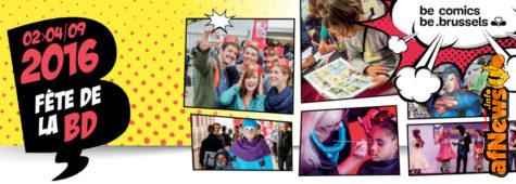 A Bruxelles la Settima Festa (gratuita) del Fumetto!