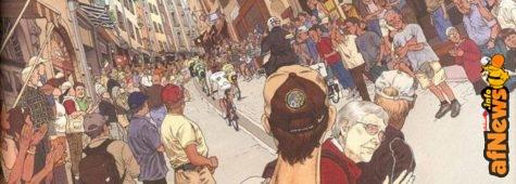 Viva il Ciclissimo! La passione (disegnata) di Katsuhiro Otomo per il Giro d'Italia