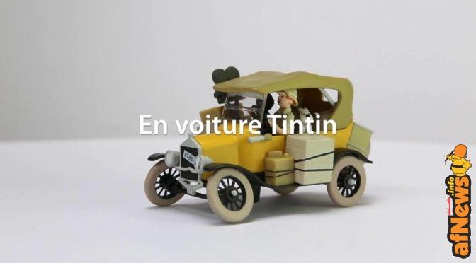 Tintin en voiture, il 24 giugno su Tintin TV