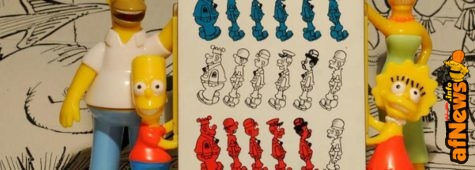 Beetle Bailey con Simpsons su Carlo Peroni