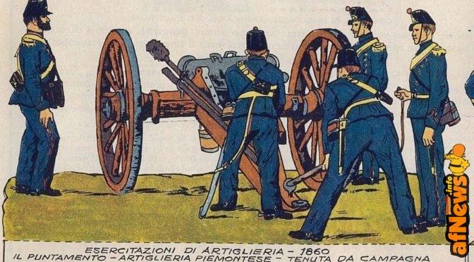 Soldatini: Artiglieria 1848-1860