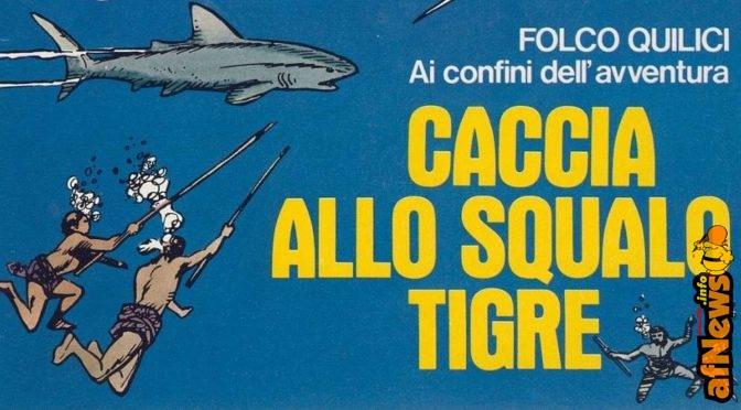 Caccia allo squalo tigre