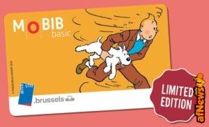 Ecco le tessere speciali per il Tram di Tintin!