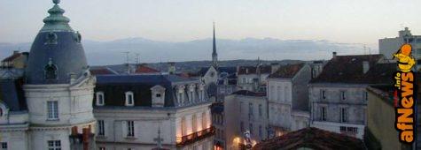 Angouleme vista dall'Hotel dei VIP - foto Gianfranco Goria