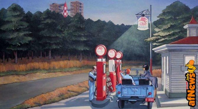 Marabout mescola Hopper e Tintin