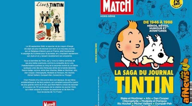 Tintin su Paris Match