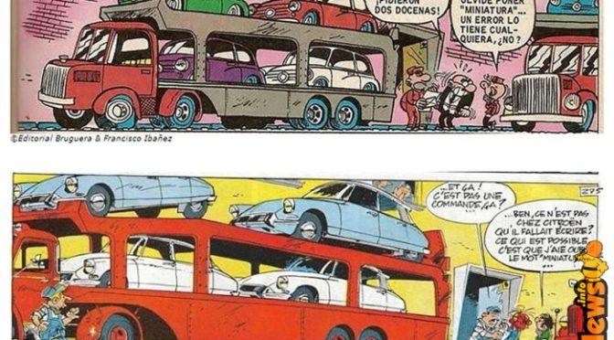 Franquin ispira… e a volte si copia
