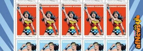 Ecco i francobolli USA per i 75 anni di Wonder Woman