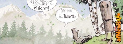 Màcheri: l'archivio del fumetto nelle Dolomiti Friulane!