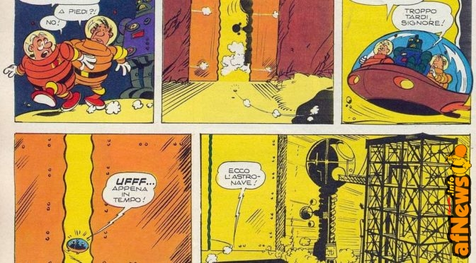 Gianni, Rob-8 e il pirata dello spazio