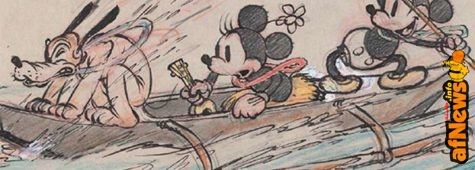 L'arte degli studi Disney in mostra a Parigi