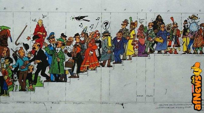 Quasi 1 milione di euro per il disegno di Hergé a Hong Kong