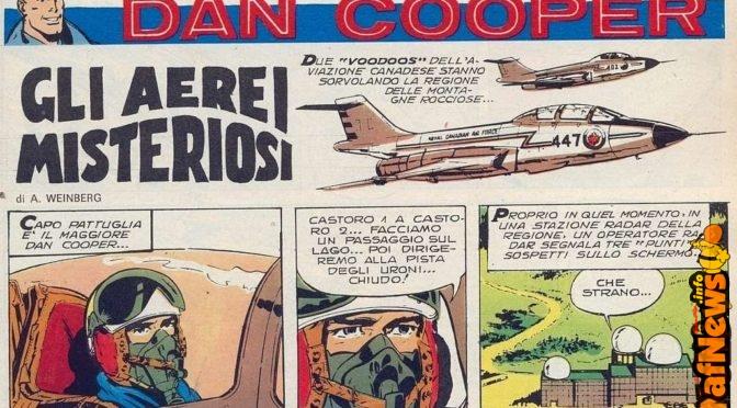 Dan Cooper: Gli aerei misteriosi