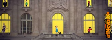 Hergé in mostra al Grand Palais: video