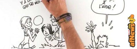 Le Lombard! Un video disegnato per i 70 anni