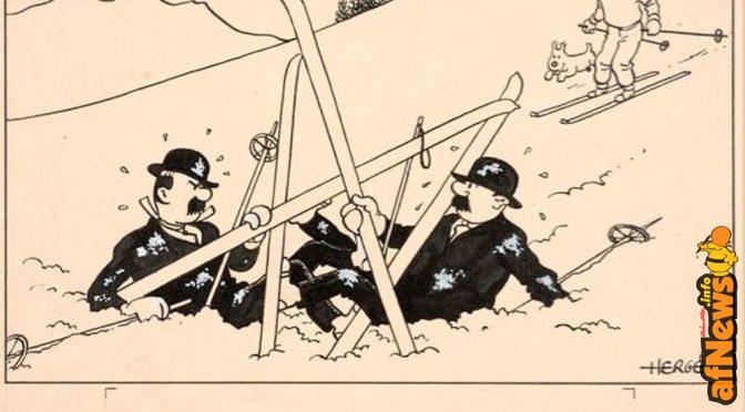 Ok, il Fumetto è Arte e vale un sacco: Hergé al Grand Palais