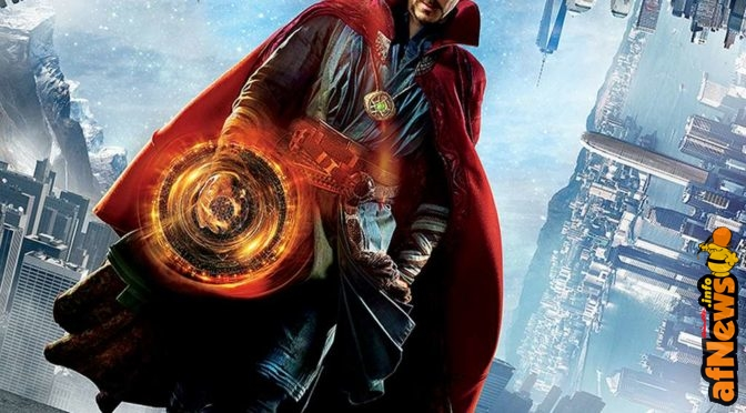 Doctor Strange: poster italiano e video